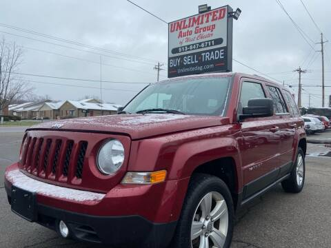 2014 Jeep Patriot for sale at Unlimited Auto Group in West Chester OH