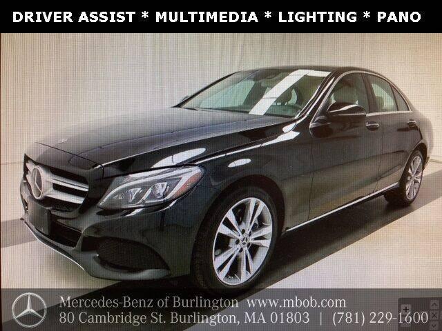 2018 Mercedes-Benz C-Class for sale at Mercedes Benz of Burlington in Burlington MA
