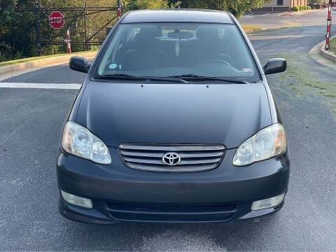 2004 Toyota Corolla for sale at Two Brothers Auto Sales in Loganville GA