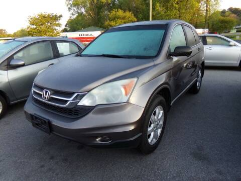 2011 Honda CR-V for sale at Creech Auto Sales in Garner NC