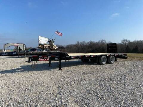 2021 Elite 25' Pintle Deck Over for sale at Ken's Auto Sales & Repairs in New Bloomfield MO