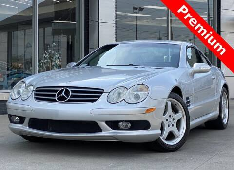 2003 Mercedes-Benz SL-Class for sale at Carmel Motors in Indianapolis IN
