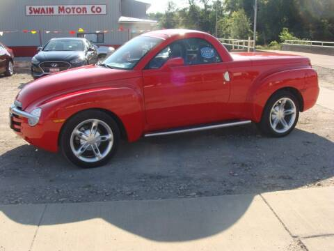 2004 Chevrolet SSR for sale at Swain Motor Company in Cherokee IA