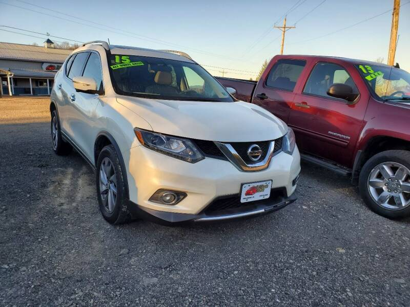 2015 Nissan Rogue for sale at ALL WHEELS DRIVEN in Wellsboro PA