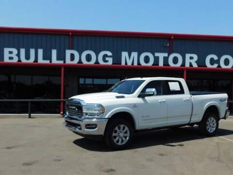 2019 RAM Ram Pickup 2500 for sale at Bulldog Motor Company in Borger TX