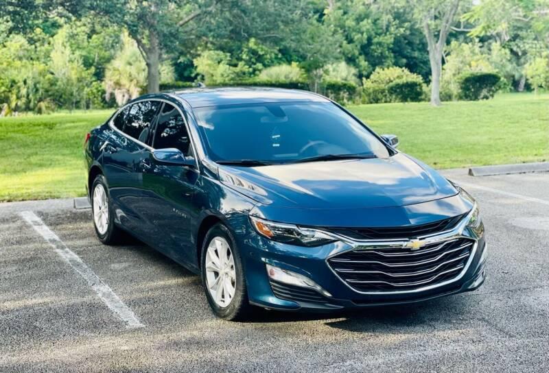 2019 Chevrolet Malibu for sale at Sunshine Auto Sales in Oakland Park FL