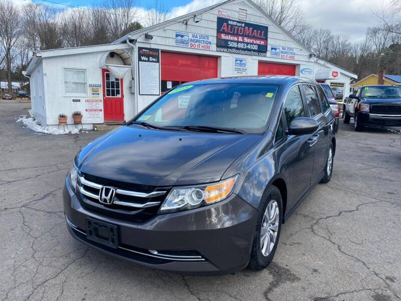 2015 Honda Odyssey for sale at Milford Automall Sales and Service in Bellingham MA