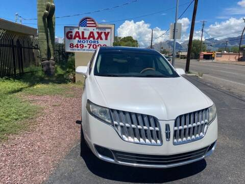 2012 Lincoln MKT for sale at GALAXY MOTORS in Tucson AZ