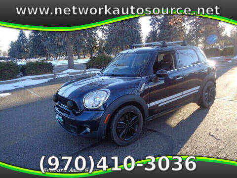 2011 MINI Cooper Countryman for sale at Network Auto Source in Loveland CO