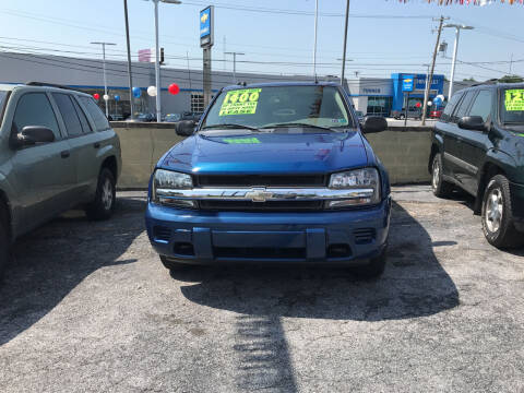 2005 Chevrolet TrailBlazer for sale at Credit Connection Auto Sales Inc. HARRISBURG in Harrisburg PA