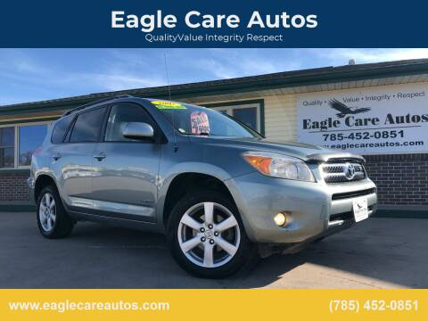 2007 Toyota RAV4 for sale at Eagle Care Autos in Mcpherson KS