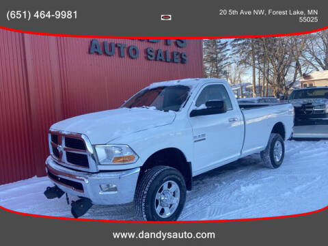 2010 Dodge Ram Pickup 2500 for sale at Dandy's Auto Sales in Forest Lake MN