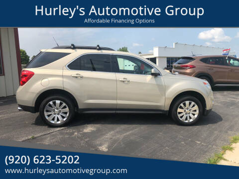 2010 Chevrolet Equinox for sale at Hurley's Automotive Group in Columbus WI
