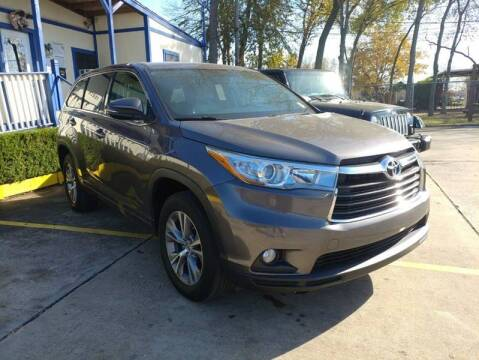 2015 Toyota Highlander for sale at USA Car Sales in Houston TX