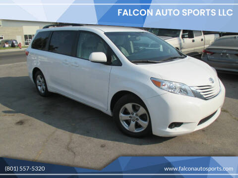 2016 Toyota Sienna for sale at Falcon Auto Sports LLC in Murray UT