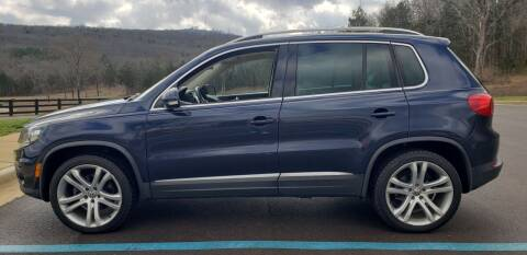 2012 Volkswagen Tiguan for sale at Tennessee Valley Wholesale Autos LLC in Huntsville AL