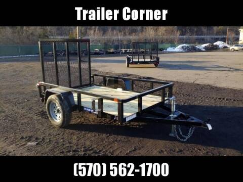 2021 Sure-Trac 5X8 TUBE TOP UTILITY