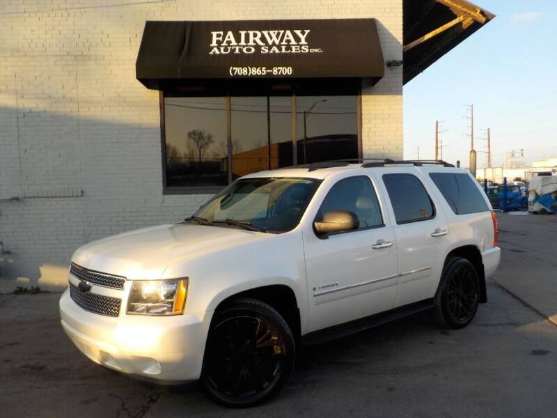 2009 Chevrolet Tahoe for sale at FAIRWAY AUTO SALES, INC. in Melrose Park IL