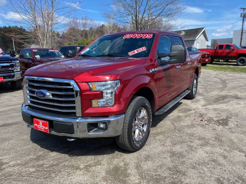 2015 Ford F-150 for sale at AutoMile Motors in Saco ME