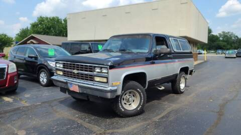 1990 Chevrolet Blazer for sale at Sedo Automotive in Davison MI