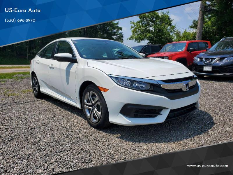 2018 Honda Civic for sale at US-Euro Auto in Burton OH