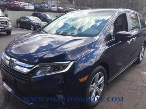 2018 Honda Odyssey for sale at J & M Automotive in Naugatuck CT