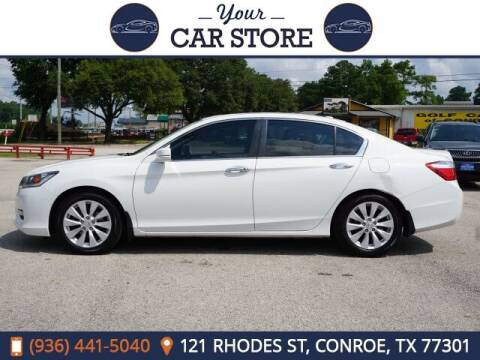 2015 Honda Accord for sale at Your Car Store in Conroe TX