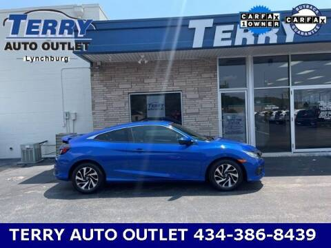 2016 Honda Civic for sale at Terry Auto Outlet in Lynchburg VA