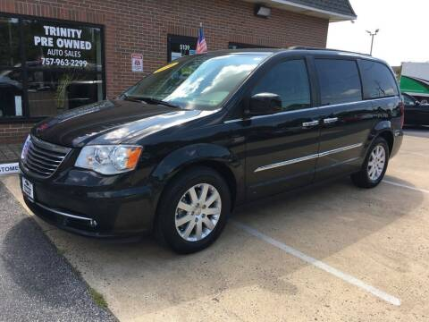 2016 Chrysler Town and Country for sale at Bankruptcy Car Financing in Norfolk VA
