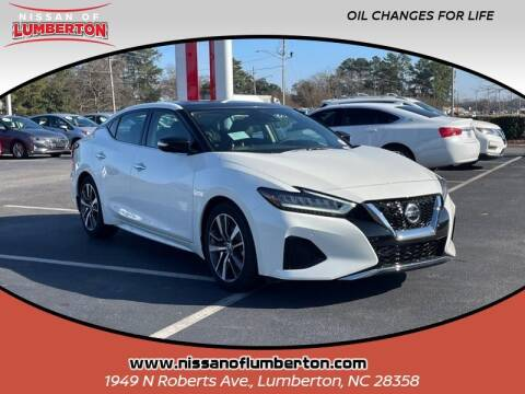 2020 Nissan Maxima for sale at Nissan of Lumberton in Lumberton NC