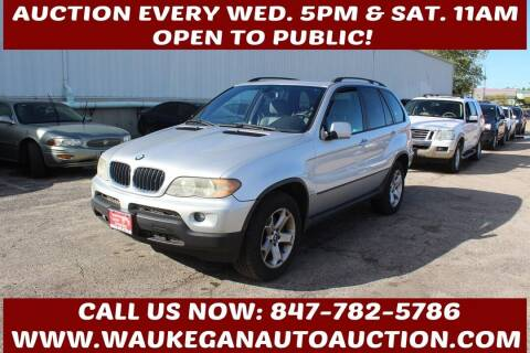 2006 BMW X5 for sale at Waukegan Auto Auction in Waukegan IL
