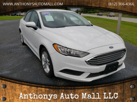 2018 Ford Fusion Hybrid for sale at Anthonys Auto Mall LLC in New Salisbury IN