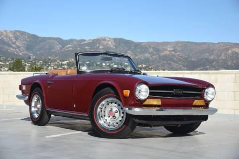 1974 Triumph TR6 for sale at Milpas Motors in Santa Barbara CA