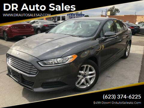 2016 Ford Fusion for sale at DR Auto Sales in Glendale AZ