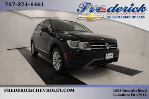 2018 Volkswagen Tiguan for sale at Lancaster Pre-Owned in Lancaster PA