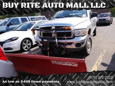 2004 Dodge Ram Pickup 2500 for sale at BUY RITE AUTO MALL LLC in Garfield NJ