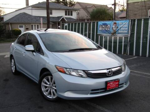 2012 Honda Civic for sale at The Auto Network in Lodi NJ