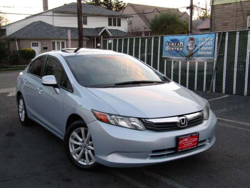 2012 Honda Civic for sale at The Auto Network in Lodi NJ