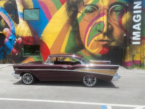1957 Chevrolet Bel Air for sale at BIG BOY DIESELS in Ft Lauderdale FL