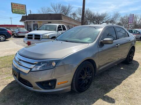 2010 Ford Fusion for sale at Texas Select Autos LLC in Mckinney TX