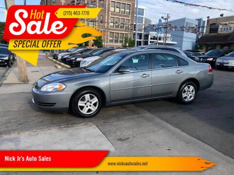 2007 Chevrolet Impala for sale at Nick Jr's Auto Sales in Philadelphia PA