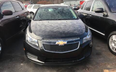 2013 Chevrolet Cruze for sale at GMG AUTO SALES in Scranton PA