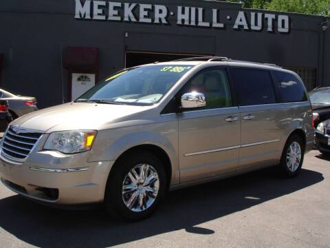 2008 Chrysler Town and Country for sale at Meeker Hill Auto Sales in Germantown WI