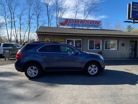 2013 Chevrolet Equinox for sale at Johnson Car Company llc in Crown Point IN