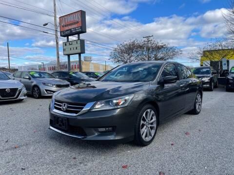 2014 Honda Accord for sale at Autohaus of Greensboro in Greensboro NC