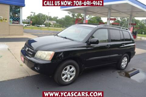 2003 Toyota Highlander for sale at Your Choice Autos - Crestwood in Crestwood IL