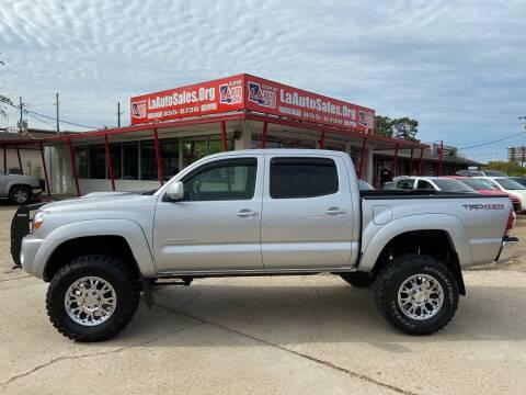 2010 Toyota Tacoma for sale at LA Auto Sales in Monroe LA