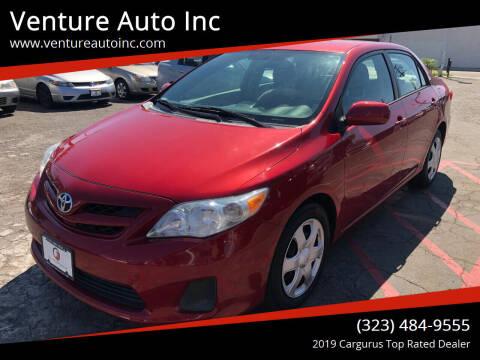 2012 Toyota Corolla for sale at Venture Auto Inc in South Gate CA