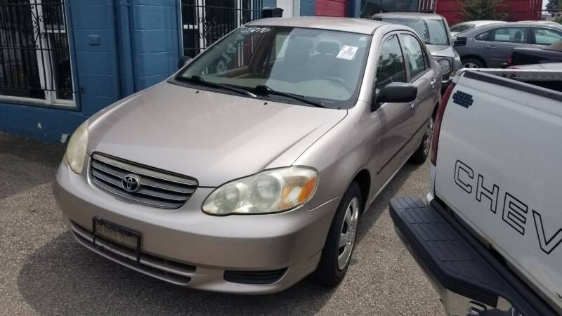 2003 Toyota Corolla for sale at Buy For Less Motors, Inc. in Columbus OH
