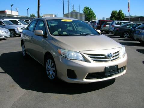 2013 Toyota Corolla for sale at Avalanche Auto Sales in Denver CO